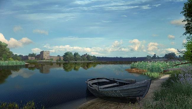 Volkhov River